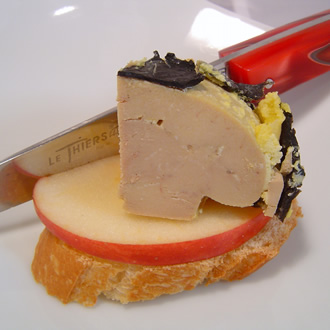 Duck's foie gras with 5% truffles 125g