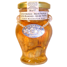 Verrine de truffes blanches, 35g extra.