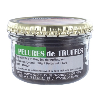 Black truffles peelings 50g