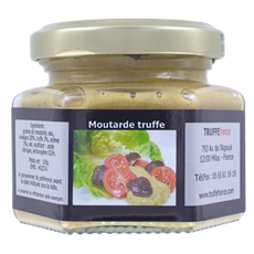 Moutarde truffée 100g