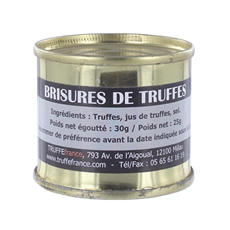 Black truffles breakings 25g