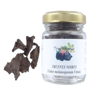 Dried black truffle slices 5g