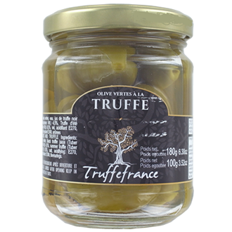 Green olives and truffle 180g