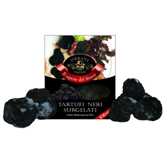 Frozen pieces of black truffles 200 g