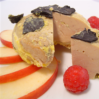 Duck's foie gras with 5% truffles 40g